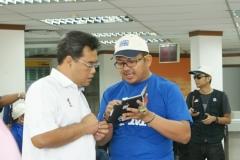 Dato' KP bersama wakil Aman Kampus.